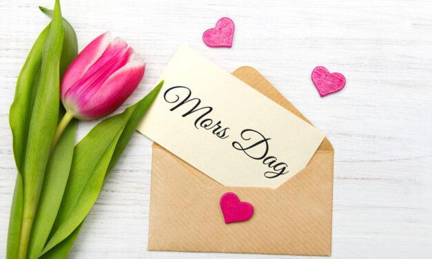 Tre skønne gaveidéer til årets mors dags gave